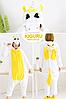 Пижама желтый единорог кигуруми, фото 2