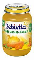 """Bebivita. Овощное пюре """"Овощное ассорти"""", 190г. (1011)"""