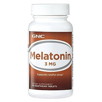 GNC Melatonin 3, 120 tab
