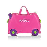 Trunki. Детский дорожный чемоданчик TRUNKI TRIXIE, розовый (0061)