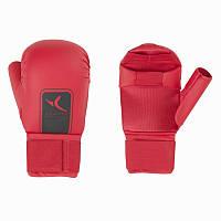 Перчатки для карате Domyos красные