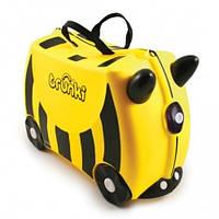 """Trunki. Детский дорожный чемоданчик """"Bernard Bumble Bee"""" (0044)"""