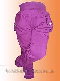 Штаны спортивные трикотажные для девочек