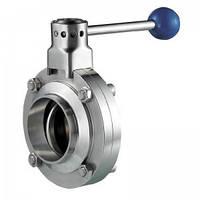 Клапан дисковый сварка/сварка Ду 32 AISI 304