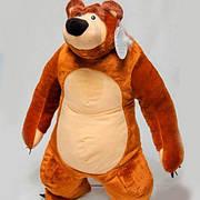 Детская игрушка Маша и медведь 75 см