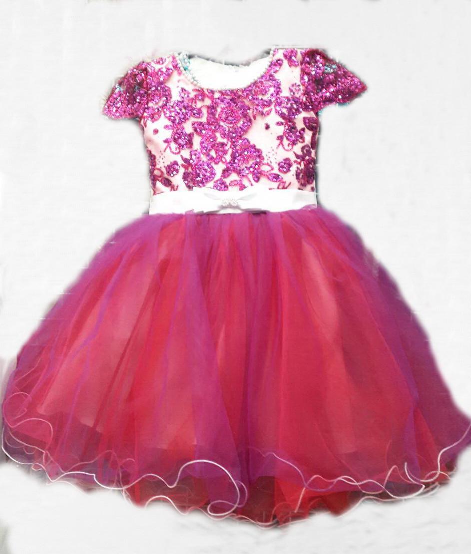 3439ba31a22 Пышное нарядное новогоднее платье с гипюровым верхом для девочек 8-9 лет. -  Exclusive