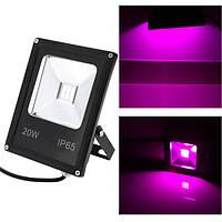 Светодиодный фитопрожектор 20W LED Grow 95-265V COB