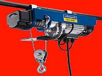 Электрический тельфер на 800 кг Scheppach hrs 400