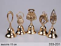 Комплект колокольчиков из 5 штук Stilars 15 см 333-201