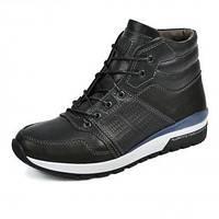 Зимние кожаные спортивные ботинки