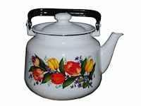Чайник эмалированный (3.5 л) Epos Весенний букет, арт. 2713/2Ч