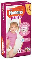Huggies. Подгузники-трусики Huggies Pants для девочек 6 (15-25 кг), Mega Pack 36 шт. (564050)