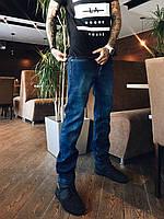 Джинсы Paigaini 2002 на флисе мужские, фото 1