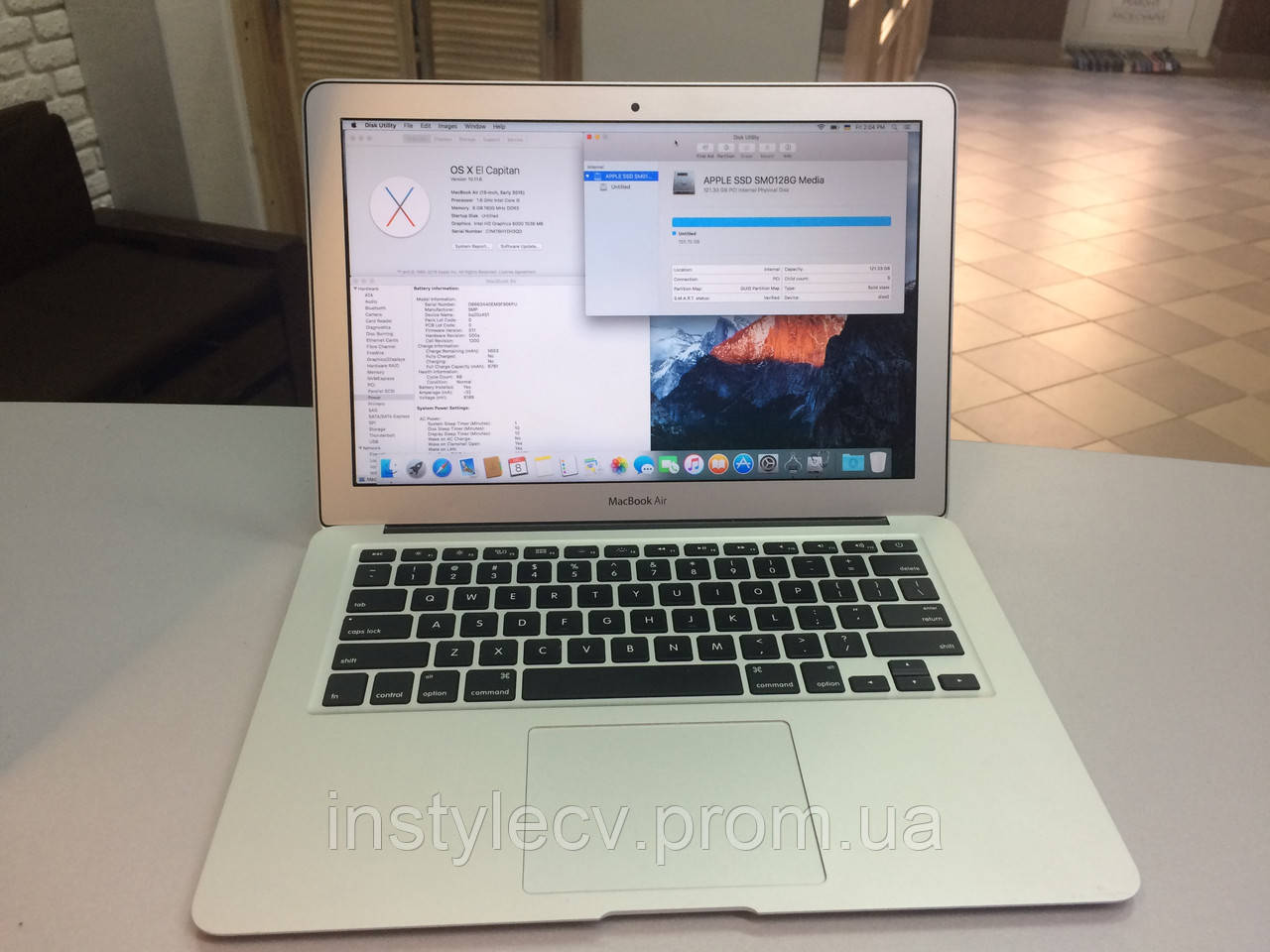 Apple, macBook Air - Technical MacBook, pro 13 with Retina display (MF839) 2015