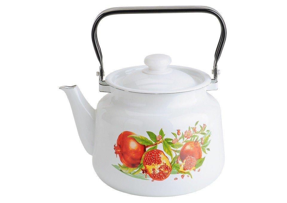 Чайник эмалированный (3.5 л) Epos Гранат, арт. 2713/2Ч