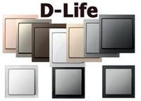 Merten D-Life - новая серия Schneider Electric премиум-класса