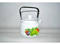 Чайник эмалированный (3.5 л) Epos Дары лета, арт. 2713/2Ч