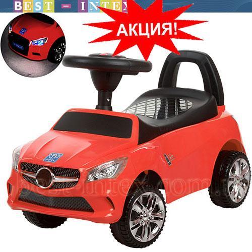 Каталка-толокар Bambi M 3147C-3 Mercedes Красный  ФАРЫ-СВЕТ!!!
