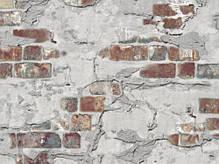 Обои, кирпич, на стену, виниловые, B49.4 Стена 5583-12,супер-мойка, 0,53*10м, фото 3