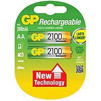 Аккумулятор АА GP 2100mAh (1 шт.)