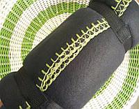 Плед флисовый  ОПТОМ теплый черный 180х160 см