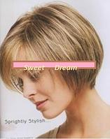 Писк моды! Короткий женский парик, прямые волосы, очень мягкий и естественный