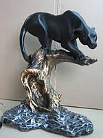 Пума (бронза цветная) Скульптура, фигурка, статуэтка