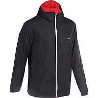 Куртка лыжная Firstheat Wed'ze мужская, черная