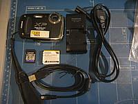 Fujifilm FinePix XP50  Full HD (1920x1080)Недорогой защищенный компакт