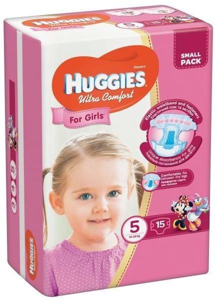 ec144feab351 Huggies. Подгузники Huggies Ultra Comfort для Девочек, 5 (12-22 Кг ...