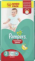 Pampers. Трусики Pampers Pants Размер 3, 6-11 кг., 60 шт (682882)