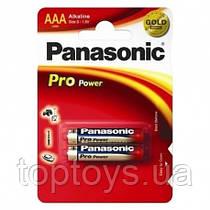Батарейка Panasonic PRO POWER AAA BLI 2 ALKALINE LR03XEG/2BPR