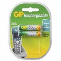 Аккумулятор ААА GP 650mAh (1 шт.)