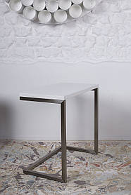 Стол приставной-консоль York белый (Nicolas TM)