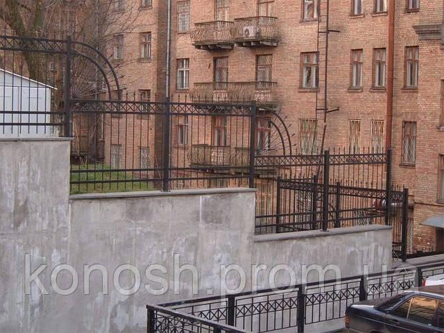 Забор вокруг дома Киев