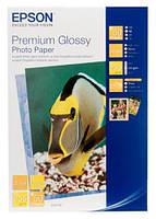 Папір Epson 100mmx150mm Premium Glossy Photo Paper, 50арк. (C13S041729)