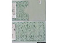 Набор ковриков для ванной 60х100, 60х50 хлопок Arya Bahar Зеленый