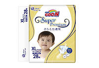 Goo.N.  Подгузники Goo.N Super Premium XL (12-20 кг), 28 шт.  (853119)