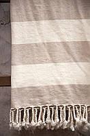 Плед-накидка Barine Deck Throw beige бежевый 135*160