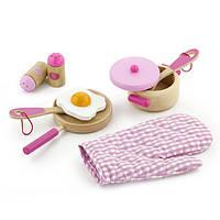Набор Viga Toys Маленький Повар Розовый 50116