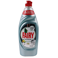 Fairy. Средство для мытья посуды Platinum Лимон и лайм, 650мл (992356)