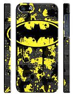 Чехол для iPhone 5/5s бэтмен лого