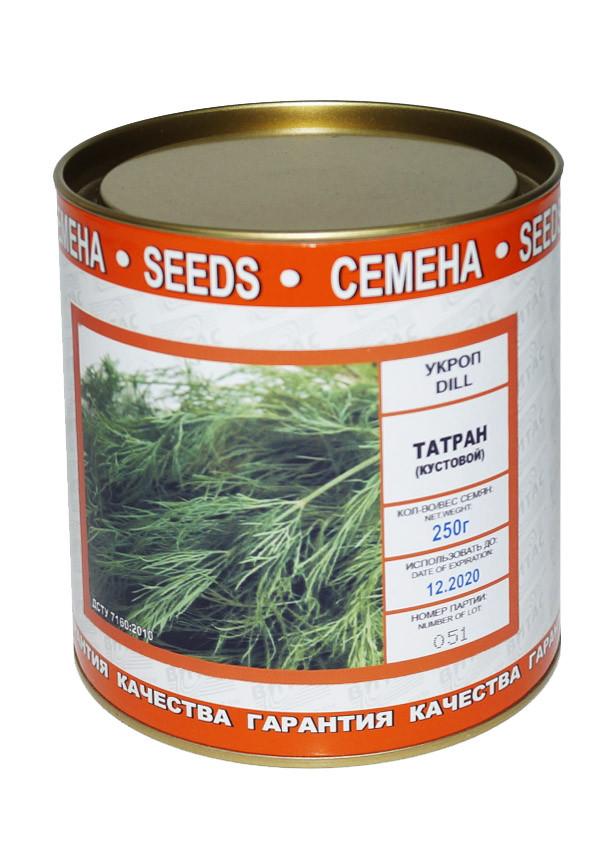 Семена укропа Татран 250 г, Vitas