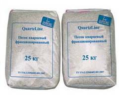 Кварцевый песок фракция 0,8-1,2 мм