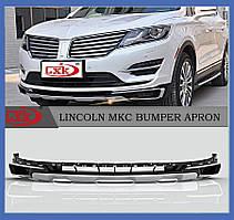 Накладка на передний бампер Lincoln MKC 2015+
