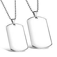 Парные армейские жетоны под гравировку из нержавеющей стали Медальоны Победителей (3.0 мм в наличии) 177653