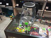 Электрочайник стекло Domotec MS-8110, фото 1