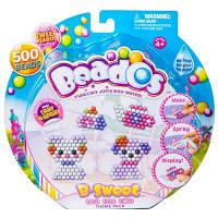 Beados. Игровой набор аквамозаики из бусинок – ЧАЙНАЯ ЦЕРЕМОНИЯ (500 бусинок, спрей, шаблоны, аксессуары) (10770)