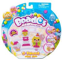 Beados.  Игровой набор аквамозаики из бусинок – ВЕЧЕРИНКА (500 бусинок, спрей, шаблоны, аксессуары) (10772)