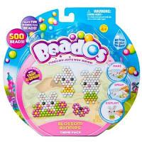 Beados.  Игровой набор аквамозаики из бусинок – ВЕСЕЛЫЕ ЗАЙЧИКИ (500 бусинок, спрей, шаблоны, аксессуары) (10775)